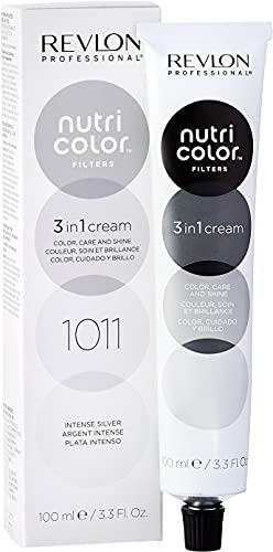 Revlon Professional Nutri Color Filters Maschera Colorata Capelli, Protettiva, Istantanea e Multidimensionale, Argento Intenso - 100 ml