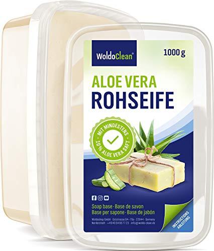 Sapone Base alla glicerina 1kg con aloe vera - per la produzione di sapone
