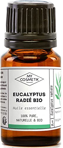 Olio essenziale di Eucalipto radiata Organico - MyCosmetik- 10 ml