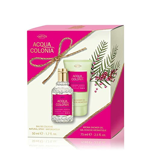 Acqua Colonia 4711 Pink Pepper & Grapefruit Set - EdC + Shower Gel Edizione Limitata