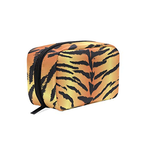 Beauty case Tiger Skin make up astuccio con cerniera