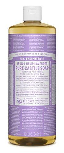 Magia Saponi Pure-sapone Dr. Bronner 18-in-1 di canapa di lavanda, 32 once