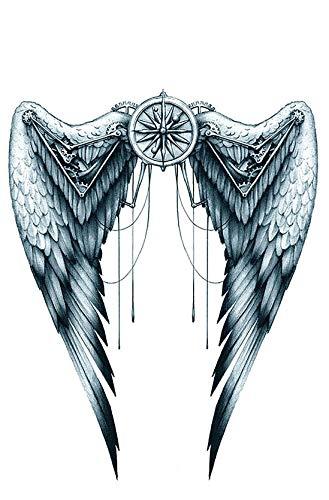 Tatuaggio con ali per la schiena km150