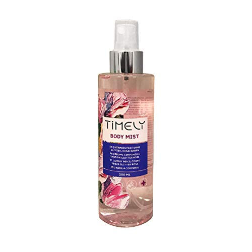 Timely Body Mist, spray per il corpo dalla fragranza sensuale, 200 ml
