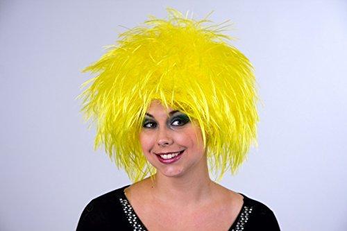 Nina parrucca, giallo