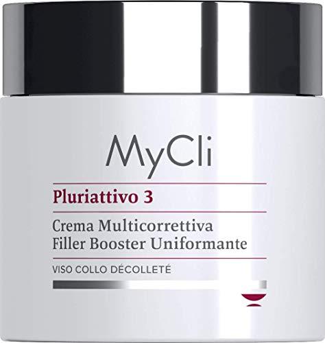 Pluriattivo 3 viso My Cli crema multicorrettiva filler booster uniformante 100 ml