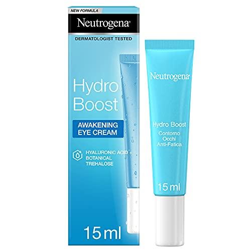 Neutrogena Hydro Boost, Crema Gel contorno Occhi, Anti-Fatica, con Acido Ialuronico, 15 ml