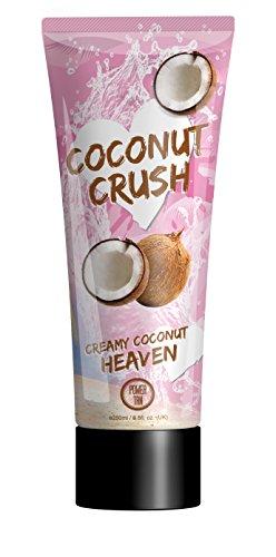 Power Tan - Acceleratore di abbronzatura in crema Coconut Crush, 250ml