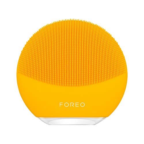 FOREO LUNA mini 3 - Dispositivo elettrico detergente per il viso adatto a tutti i tipi di pelle Sunflower Yellow