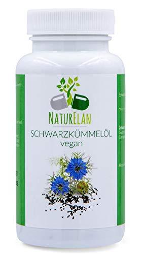NaturElan - Olio di cumino nero - Vegan - 90 Capsule