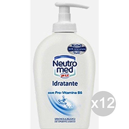 Set 12 NEUTROMED Sapone Liquido Idratante 300 Ml Nuovo Cura E Pulizia Del Corpo