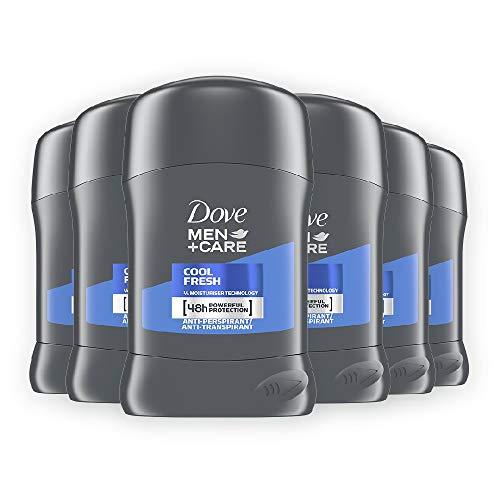Dove Men+Care DMC, Deodorante Uomo in Stick Fresh, 6 pezzi da 40 ml