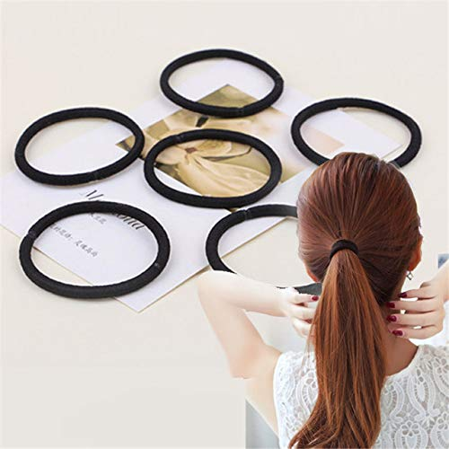 20 pezzi di elastici per capelli, Elastici ad alta elasticità Titolari di coda di cavallo con Seamless per capelli spessi e pesanti