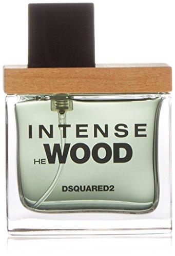Dsquared2 Intense He Wood Eau de Toilette, Uomo, 30 ml