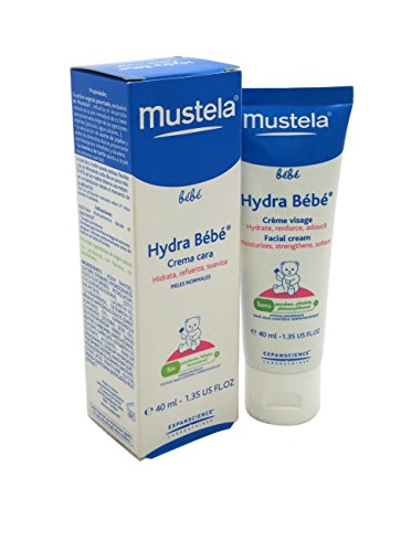 Mustela Hydra bébé viso - crema idratante fin dalla nascita