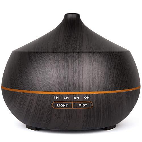 Diffusore di oli essenziali, umidificatore ad ultrasuoni con 7 luci LED che cambiano colore