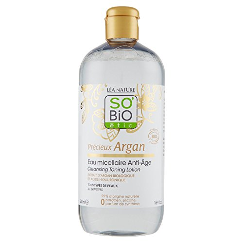 SO BiO Etic prezioso di Argan Micellare Anti-Age, 500ml