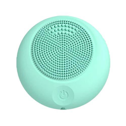 Songqee, spazzola per la pulizia del viso e massaggiatore del viso, in silicone impermeabile, anti-invecchiamento, strumento per il trucco e l'esfoliatore, caricatore USB, mini