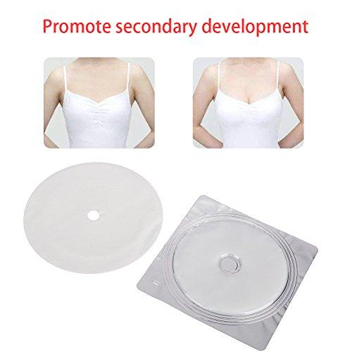 Patch per il Trattamento del Seno, Rinforzatore del Collagene Migliora il pad del Torace per L'aumento del Seno Set, Patch Seno al Collagene 4pcs