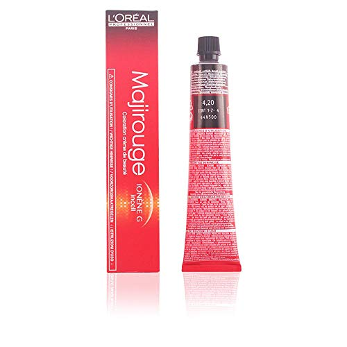 L'Oreal Professionnel Tintura, Majirel-Majirouge - 4.20 Castano Irisee Intenso 50 Ml
