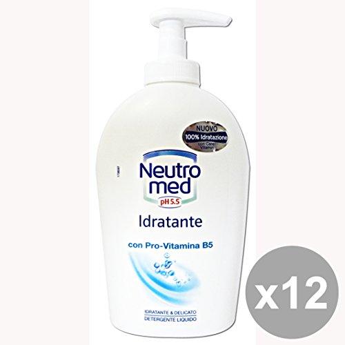 Set 12 NeutroMED Sapone Liquido Idratante 300 Ml. Saponi e cosmetici
