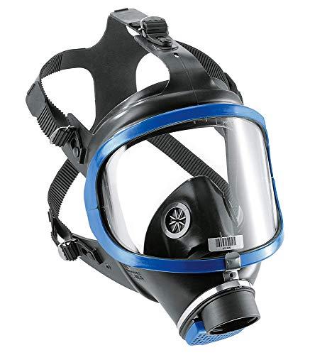 Dräger X-plore 6300 - Maschera a piena copertura facciale con attacco filettato, certificazione DIN EN 148-1, R55800