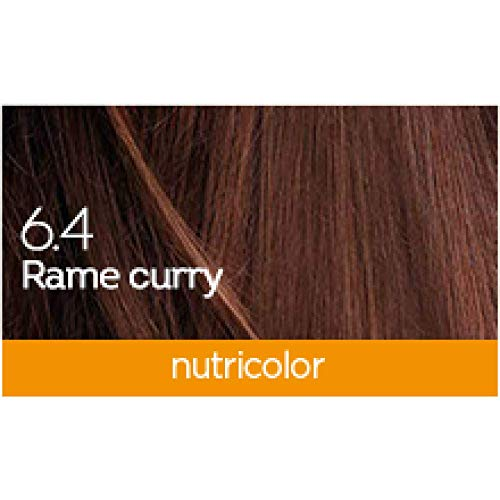 Bios Line 53326 Biokap Nutricolor 6.4, Rame Curry