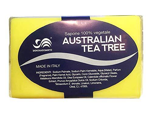 Sapone Solido vegetale al Tea Tree Oil e Calendula (150g)