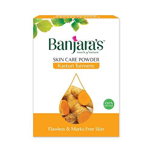Banjara's Kasturi curcuma in polvere a base di erbe per l'acne Pimple 100g