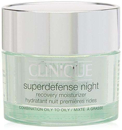 Clinique Superdefense Night Crema, Tipo di Pelle III-IV - 50 ml
