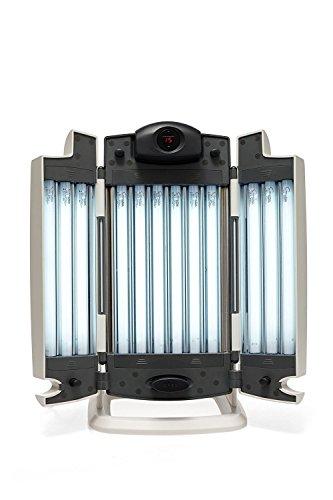 Lampada abbronzante per viso, con 12 tubi luminescenti, per solarium