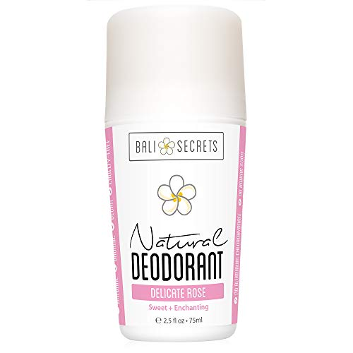 Bali segreti deodorante naturale–Organic & vegan–per donne e uomini–all Day Fresh–resistente e affidabile Protezione–70ml