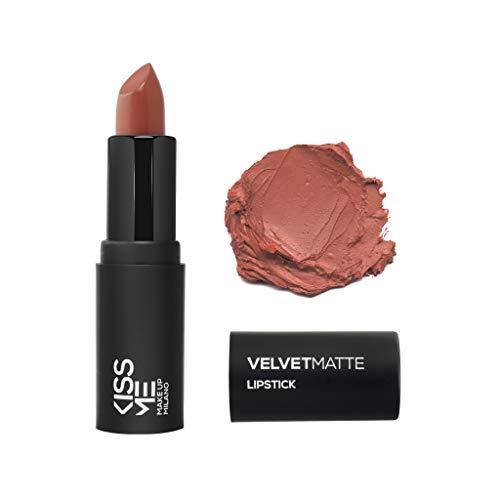 KissMe Makeup Milano Rossetto opaco matt #velvetmatte 01 marrone