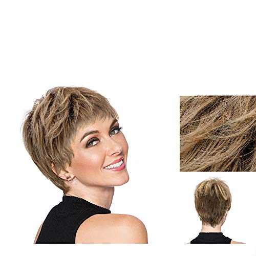 Hairdo Textured Cut Parrucca Biondo Rame Dorato