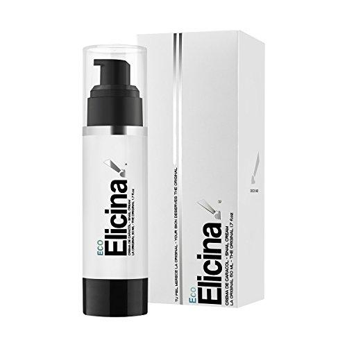Elicina Eco - Crema viso per pelli normali, miste e grasse - Bava di lumaca, 50 ml