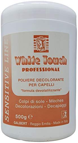 Polvere Decolorante Per Capelli Professionale Blu 500Gr Formula Non Volatile Per Colpi di Sole, Mèches, Decapaggi