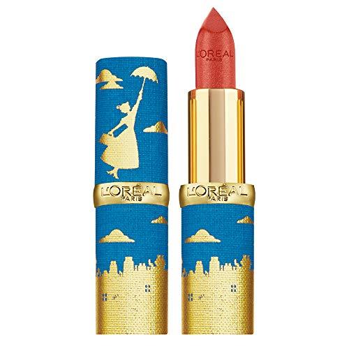 L'Oréal Paris Rossetto Lunga Durata Color Riche, Edizione Limitata Disney Mary Poppins, Idea Regalo Donna, Finish Satinato, 342