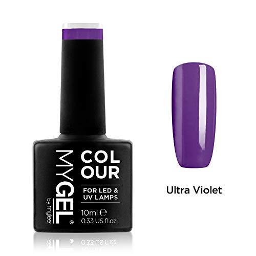 Smalto MyGel, da MYLEE (10ml) MG0029 - Ultra Violet UV / LED Nail Art Manicure Pedicure per uso professionale in soggiorno ea casa - Lunga durata e facile applicazione