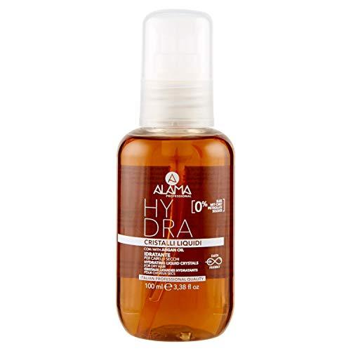 Alama Professional Hydra Cristalli Liquidi Idratanti per Capelli Secchi, Ambra, 100 ml