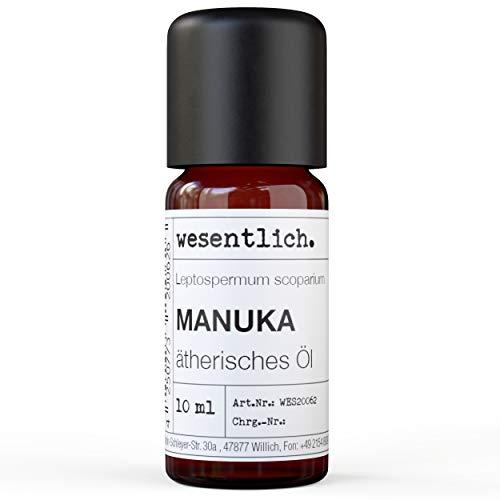 Olio di Manuka – Olio essenziale puro di wesentlich. – 100% naturale dalla bottiglia di vetro (10 ml)