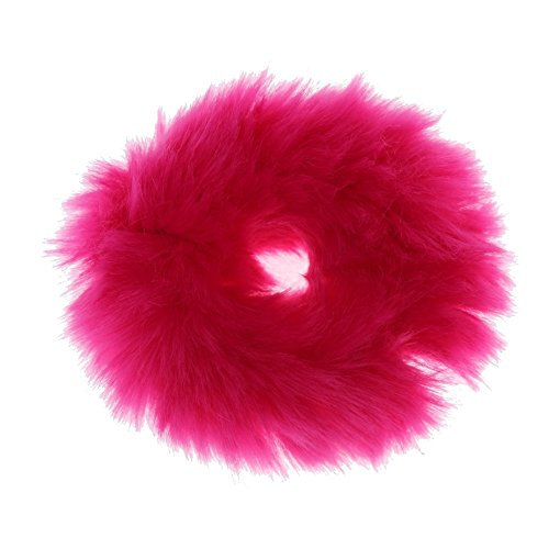 Just Fox–elastico per capelli con pelliccia sintetica in 6diversi colori
