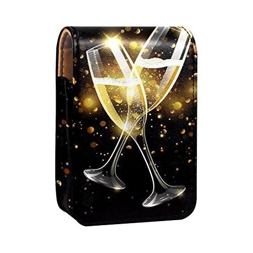 Custodia per rossetto portatile con coperchio,Celebrazione brinda alla birra