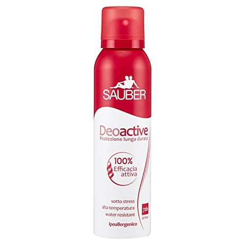 Sauber Deodorante Deoactive Spray - 150 Ml