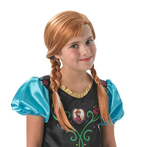 Disney Frozen Kids Licensed Accessory - Parrucca Anna per ragazze