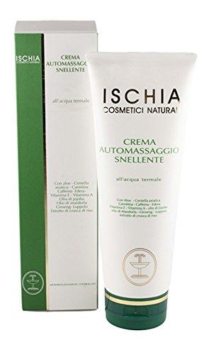 Ischia Cosmetici Naturali Crema Automassaggio Snellente - 250 ml
