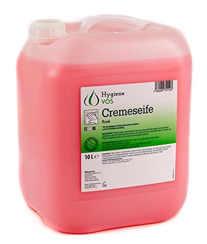 Hygiene VOS 10 litri Liquid Hand Soap pH neutro Uso quotidiano. Formula extra morbida e biodegradabile Pacchetto economico adatto a tutti i tipi di erogatori