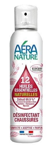 AERA NATURE: Scarpe disinfettanti con 12 oli essenziali naturali - battericida, fungicida