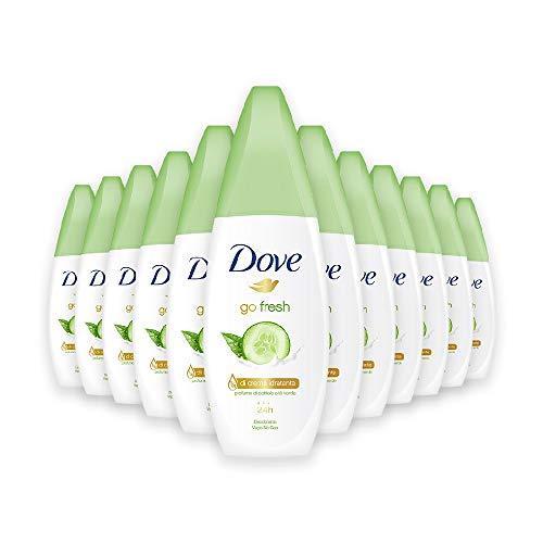 Dove Go Fresh Pera Vapo 75 ml, Confezione da 12