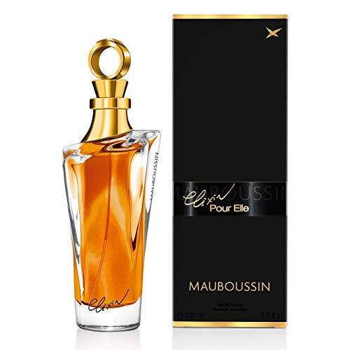 Mauboussin - Eau de Parfum Donna - Elixir Pour Elle - Fragranza Orientale e saporita - 100ml