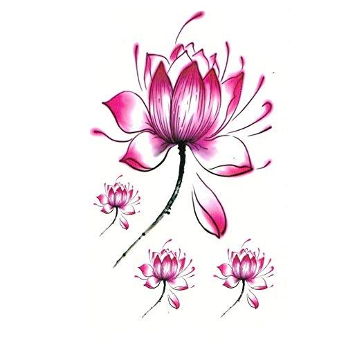 Justfox – Tatuaggio temporaneo fiore di loto